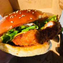 Photo of menu item: Truffle Chicken Katsu Burger