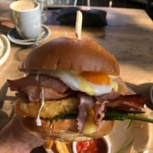 Photo of menu item: Brekky Burger