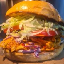 Photo of menu item: Spicy Peri-Peri Chicken Burger