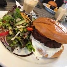 Photo of menu item: Lentil Burger