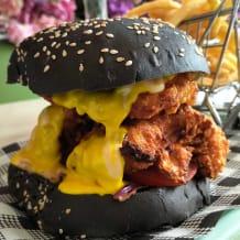 Photo of menu item: The lil Bad Boy burger