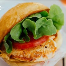 Photo of menu item: Grilled Chicken Burger