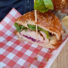 Photo of menu item: Grilled Chicked Burger