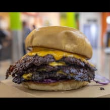 Photo of menu item: Triple Cheeseburger