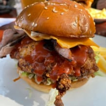 Photo of menu item: Buttermilk Chicken Burger