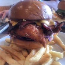 Photo of menu item: Texas style fried birdy