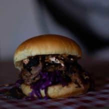 Photo of menu item: Pulled Pork Sandwich