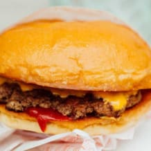 Photo of menu item: Kids Beef Burger