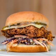 Photo of menu item: Chick n Slaw