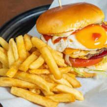 Photo of menu item: Tradesmen burger