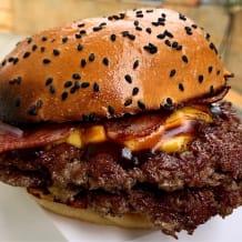 Photo of menu item: Double Smashburger w/ Bacon