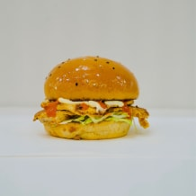 Photo of menu item: Portuguese Chicken Burger