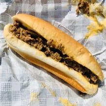 Photo of menu item: Philly cheese steak