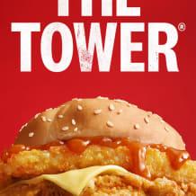 Photo of menu item: Tower burger