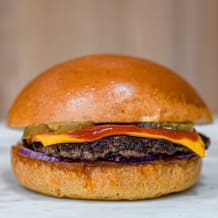Photo of menu item: Cheese Brgr