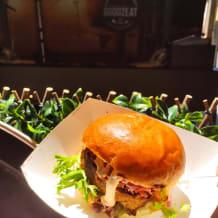 Photo of menu item: Pork belly burger