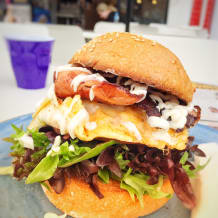 Photo of menu item: Breakfast burger