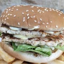 Photo of menu item: Double Chicken Burger