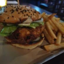 Photo of menu item: Fried Fish Sandwich