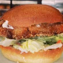 Photo of menu item: Schnitty Burger