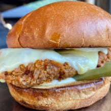 Photo of menu item: Chicken Burger with Cheese