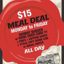 Photo of menu item: $15 MEAL DEAL