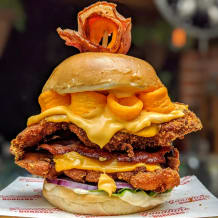 Photo of menu item: Cheezel Burger
