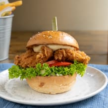 Photo of menu item: Fried Burger Patch Chicken