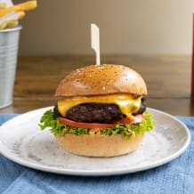Photo of menu item: Burger Patch Beef & Chips