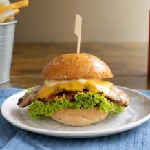 Photo of menu item: Grilled BP Chicken & Chips