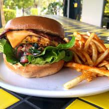 Photo of menu item: Moroccan Chicken Burger