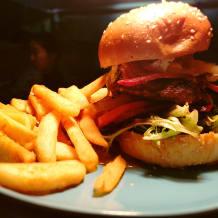 Photo of menu item: The Works Burger