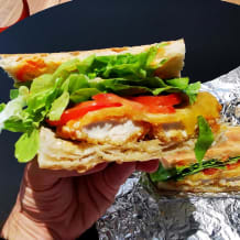 Photo of menu item: Chilli Panko Burger