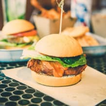 Photo of menu item: Southern Fried Chicken Burger