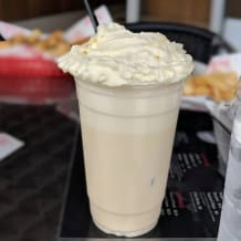 Photo of menu item: Vanilla Malt Milkshake