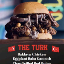 Photo of menu item: THE TURK 🇹🇷