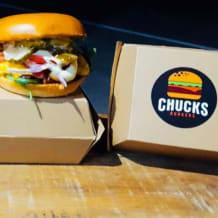 Photo of menu item: Chuck's Atomic Burger