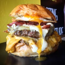 Photo of menu item: CHEESEGASM DOUBLE