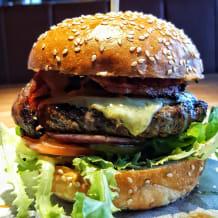 Photo of menu item: Wagyu Bacon & Cheddar