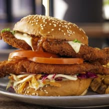 Photo of menu item: The Schnitzel Deluxe - with Fries