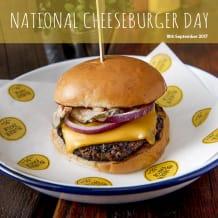 Photo of menu item: The Good American Burger