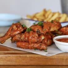Photo of menu item: Wings - Smokey BBQ