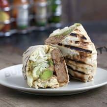 Photo of menu item: Turkey burger (In a Wrap)