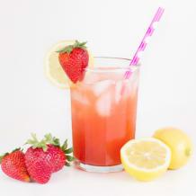 Photo of menu item: Strawberry Lemonade