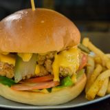 Photo of menu item: Fried Chicken Burger