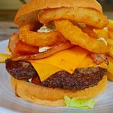Photo of menu item: Canadian Burger