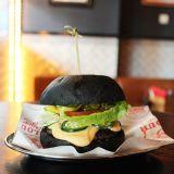 Photo of menu item: Black Widow Burger