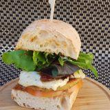 Photo of menu item: Haloumi Burger