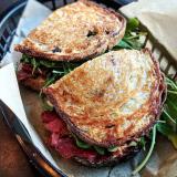 Photo of menu item: Reservoir Ruben (wrap or bread)