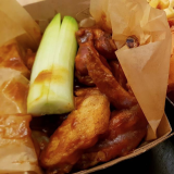Photo of menu item: Wings (Home-made hot sauce)